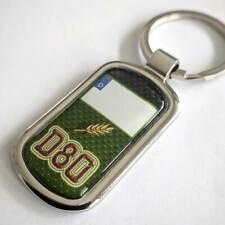 Deutz D80 Kennzeichen Schlüsselanhänger  & 3D Beschichtung & Gravur