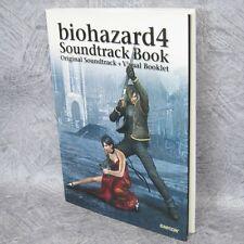 BIOHAZARD Resident Evil Soundtrack & Visual Book w/CD Art CP*