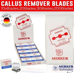 10-200 Blades For Corn Cutter Callus Shaver Hard Skin Remover Solingen Germany