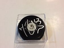 Mike Ribeiro Signed Nashville Predators Hockey Puck Autographed d