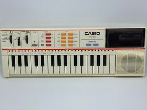 VTG Casio PT-82 Keyboard With/ World Songs Rom Card RO-551 Tested! FREE SHIPPING