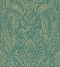 10 rolls of Zoffany 'Havanna' Wallpaper ZPEW02001 Peacock/Bronze