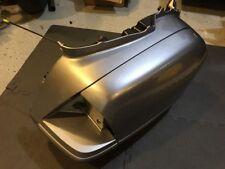 01-10 Honda Goldwing GL1800 Right Side Saddlebag Bag Lid Door Complete SILVER OE