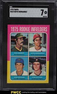 1975 Topps Keith Hernandez ROOKIE RC #623 SGC 7 NRMT