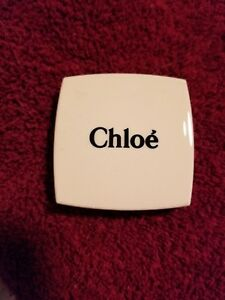 Chloe makeup mirror compact small double sided mirror comeswith black velvet bag