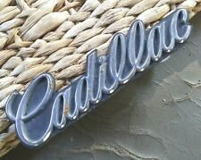 - 1985-1992 Cadillac Grill Emblem with Fasteners PN 1624421 Very Nice Condition