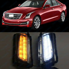 Front Fog/Driving Lamps Daytime Running Lamps DRL Fit 2013 to 2016 Cadillac ATS