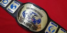 WWF INTERCONTINENTAL OVAL REPLICA BELT MADE IN 4MM BRASS PLATES & REAL LEATHER