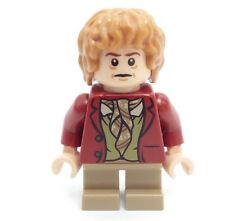 Lego Minifig Bilbo Baggins Short Legs from Set 79004 The Hobbit Barrel Escape