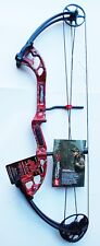 New PSE Archery Stinger X 60# RH Compound Bow Red Skullworks 2
