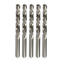 HELLER HSS-G Ground 5pc DRILL BIT 0.2mm Jobber Steel Sheet Metal Drilling