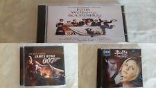 lot x 3 cd's James Bond 007/buffy/4 weddings lot 3