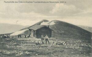 Berghütte: Fischerhütte des Öster. Touristenklubs am Kaiserstein gl1909 104.260