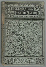 A CHILD'S HISTORY OF ENGLAND PEOPLES EDITION BY CHARLES DICKENS  HB