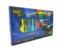 MUKIKIM Rock And Roll It Rainbow Flexible Roll-Up Piano Battery or USB