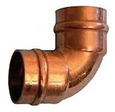 Joblot 15x Pegler Yorkshire Solder Ring Copper Elbow YP12 35mm x 35mm