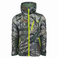 Under Armour Men's Storm Barrier HoodedJacket MO-Treestand/Velocity.MSRP $169.00