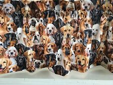 NEW Different Dogs Puppy Breeds Valance Curtain