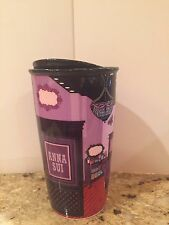 2016 Starbucks Anna Sui Boutique Double Wall  Tumbler New 12 OZ NIB!