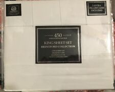 Luxury Sateen 450 Threads per square inch King Sheet Set Brentford Collection