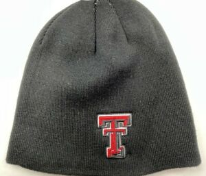Authentic Texas Tech Knit Hat / Top of The World / Black  / NWT / OSFA