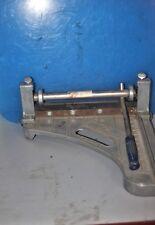 Crain Cutter Model A Vinyl Tile Cutter