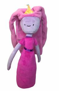 Adventure Time Princess Bubblegum Pink Plush Stuffed Doll Cartoon Network 11in.