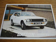 DATSUN CHERRY F II ESTATE SALES BROCHURE 1978 jm