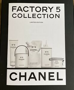 CHANEL FACTORY 5 USER MANUAL COLOURING BOOK BOOKLET NEW & AUTHENTIC