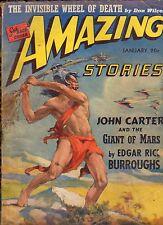 Pulp SI-FI--Amazing Stories--Jan. 1941 Rdgar Rice Burroughs-----132