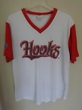 Vintage SGA Corpus Christi Hooks Minor League Pullover Baseball Jersey Mens XL b