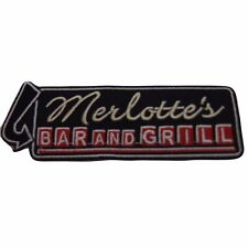 True Blood Merlotte's Bar and Grill Logo Embroidered Patch