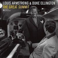 Louis Armstrong / Duke Ellington - Great Summit [New Vinyl LP] Gatefold LP Jacke