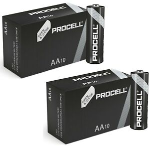 Duracell AA AAA Batteries Now PROCELL Industrial Alkaline MN1500 LR6 EXPIRY 2030