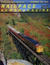 Railpace NewsMagazine December 1995 Vol 14 No 12 Crawford Notch Line Opens!