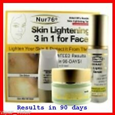 **Nur76 Advanced 3-In-1 Skin Lightening For Face**