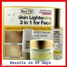 **Nur76 Advanced 3-In-1 Skin Lightening For Face**