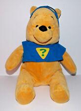 Winnie the Pooh Superhero Plush 14in Disney Stuffed Animal Mask Teddy Bear