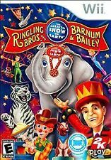 Ringling Bros. and Barnum & Bailey: Circus (Nintendo Wii, 2009)