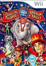 Ringling Bros. And Barnum & Bailey Circus: The Greatest Show On Earth Wii &WIIU