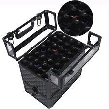 Aluminium Acrylic Beauty Box Cosmetic Nail Polish Storage Make Up Vanity Case