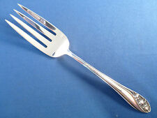 LILY OF THE VALLEY-GORHAM STERLING COLD MEAT FORK