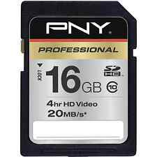 PNY 16G HD class 10 SD card for Sony A380 A390 Nikon D3100 D320 camera