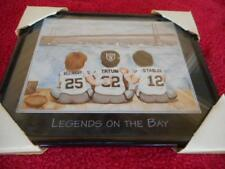 Raiders Legends On The Bay Biletnikoff-  Tatum-Stabler Framed Football Print