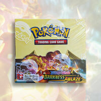 Pokemon TCG Sword & Shield: DARKNESS ABLAZE Booster Box | FACTORY SEALED