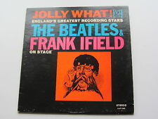 JOLLY WHAT THE BEATLES &  FRANK IFIELD ON STAGE  ORIGINAL1964 USA  VEE JAY PRESS
