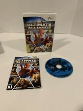 Marvel: Ultimate Alliance (Nintendo Wii, 2006) Complete And Tested