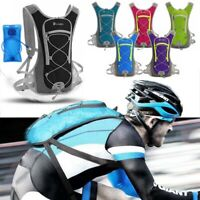 Hydration Backpack Outdoor Sports Vest Cycling Hiking Camping Water Bladder Bag
