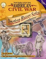 The American Civil War Social Studies  Book by  Cindy Barden Lots of Activities