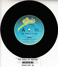 "WHAM! The Edge Of Heaven GEORGE MICHAEL 7"" 45 rpm record + juke box title strip"